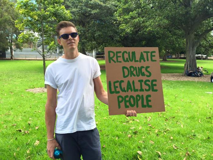 Will Tregoning from Unharm at January Cannabis Picnic