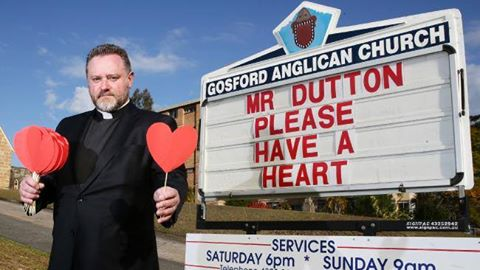 Father Rod Bower Daily Telegraph image
