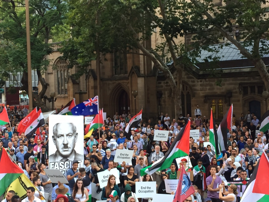 Protest against Israeli PM Benjamin Netanyahu visit to Sydney | News Footage | RUPTLY