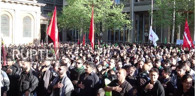 Ashura commemoration in Sydney| News Footage | RUPTLY