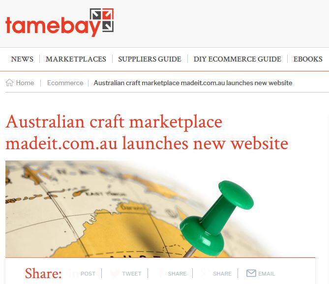 TameBay Madeit Article